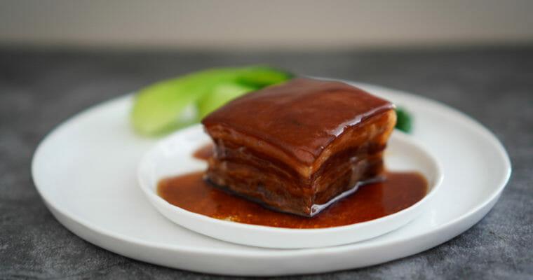 トンポウロウ ( 東坡肉  /Dong Po Rou/ Braised Pork Belly/豚の角煮)