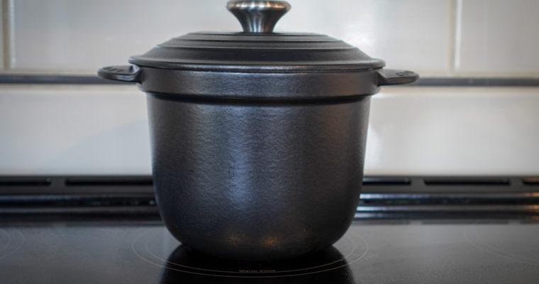 ルクルーゼ(LE CREUSET) ココット・エブリィで炊飯