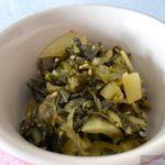 パッカドーン炒め (Fried Sour Mustard/ผัด ผักกาดดอง)