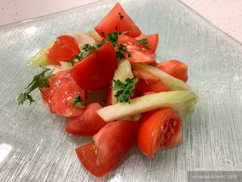 Tomato and Celery Salad