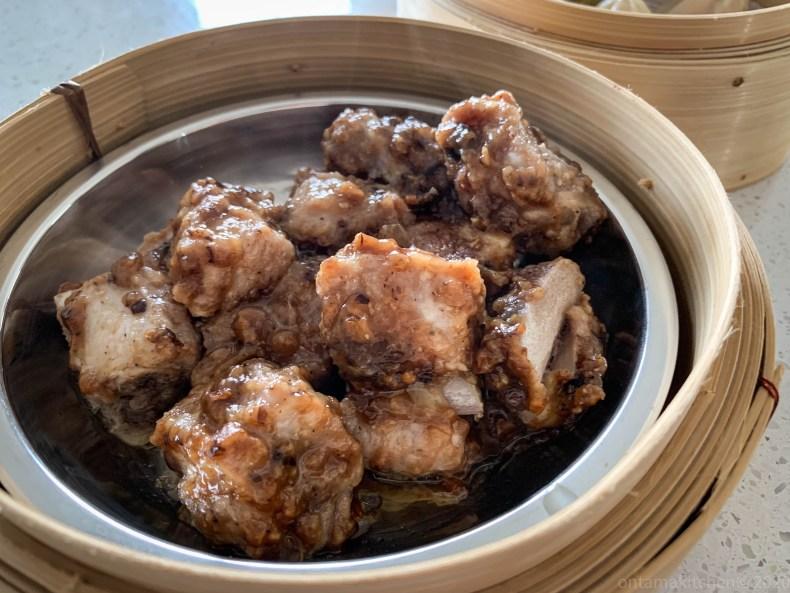 ポークリブの豆豉醬蒸し (Pork Spareribs With Black Bean Sauce)