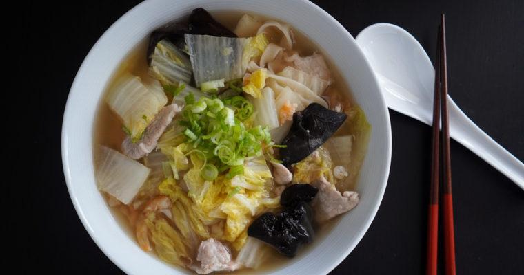 家常麺 (家常面/Jia Chang Noodle Soup)