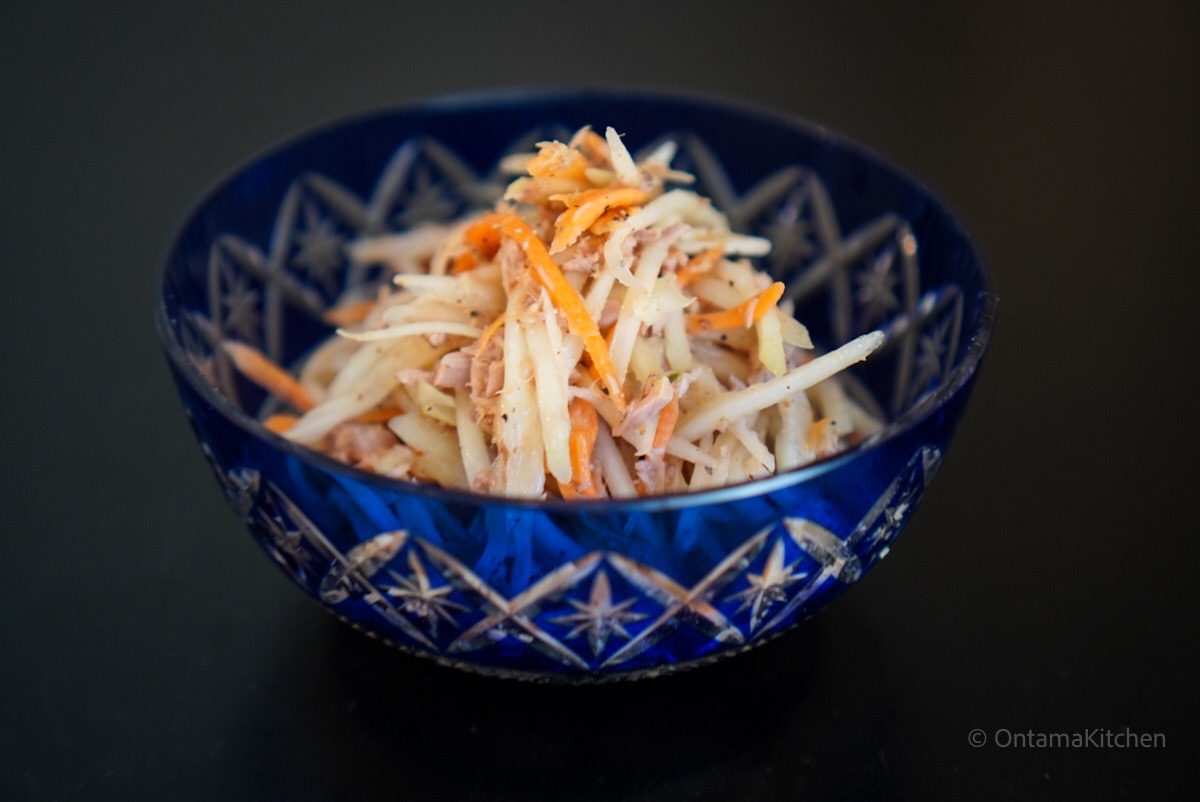 japanese papaya salad